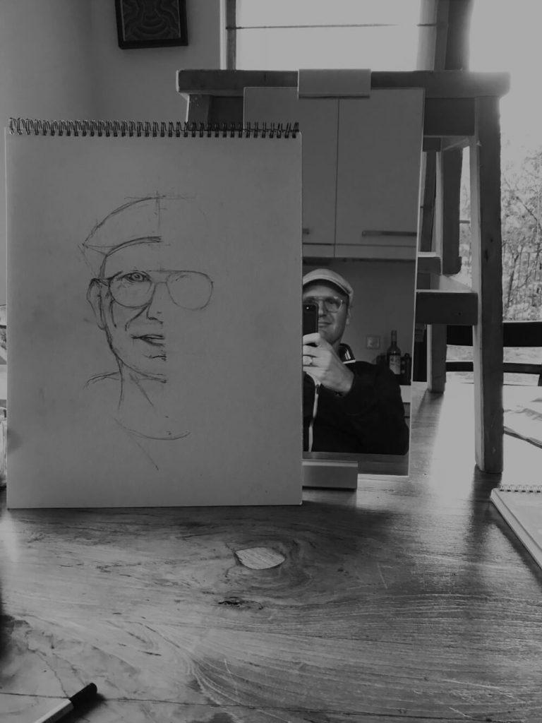 About me, Martijn Kuijs, illustraties en visualisaties in pentekeningen