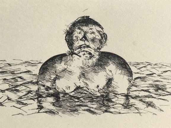 pentekening gevangen door Martijn Kuijs