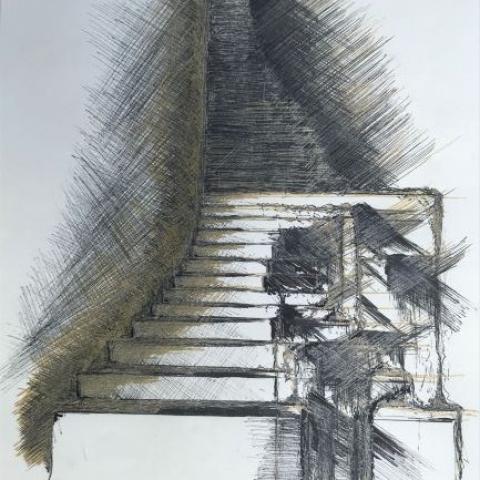 pentekening architect door Martijn Kuijs