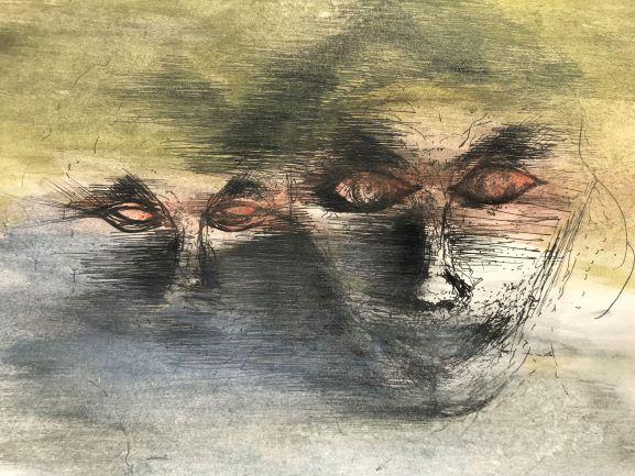 pentekening horror door Martijn Kuijs