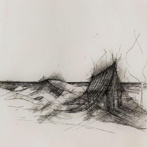 pentekening makelaar door Martijn Kuijs