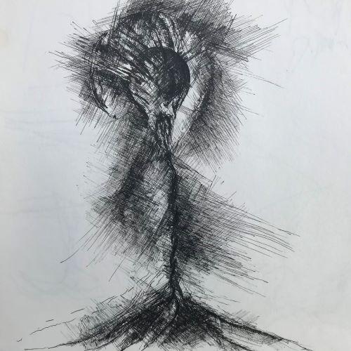 pentekening storm door Martijn Kuijs